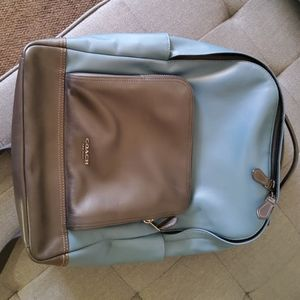 Coach Men's Leather Backpack
